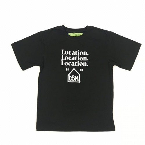 Off-White X DSM Location Tee [HOP Batch]